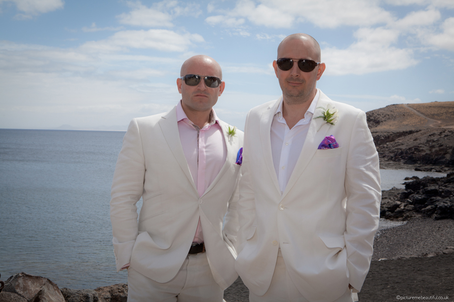 the groom and his best man by picture me beautiful wedding photography UK
