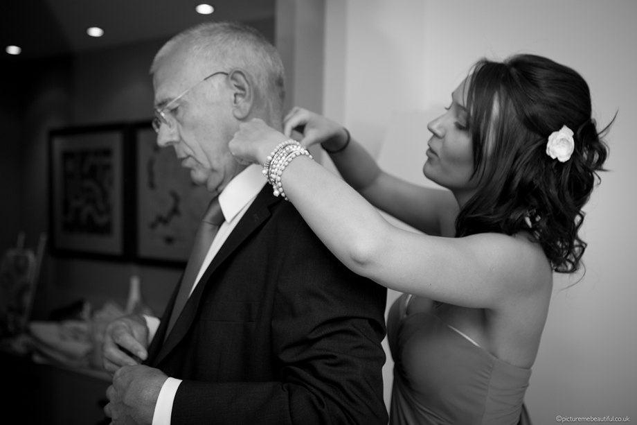 father of the bride by picture me beautiful wedding photography UK