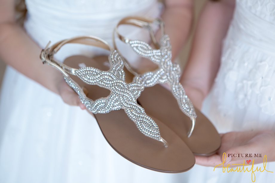 Bridal Shoes By Picture Me Beautiful Wedding Photography
