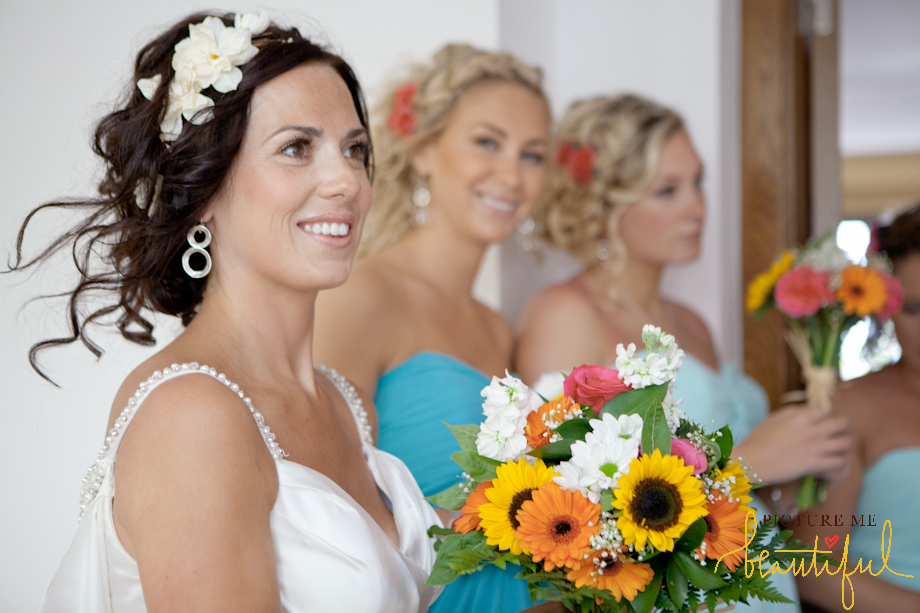 bridesmaids and the bride by Picture-Me-Beautiful-Photography-and-Film UK