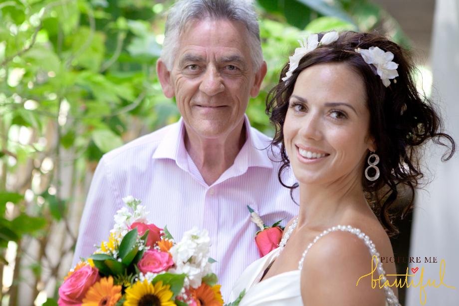 father and the bride by Picture-Me-Beautiful-Photography-and-Film UK