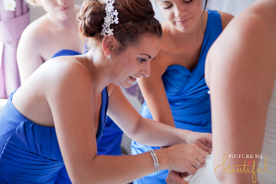 bridal preparations by Picture Me Beautiful Wedding Photography and Film