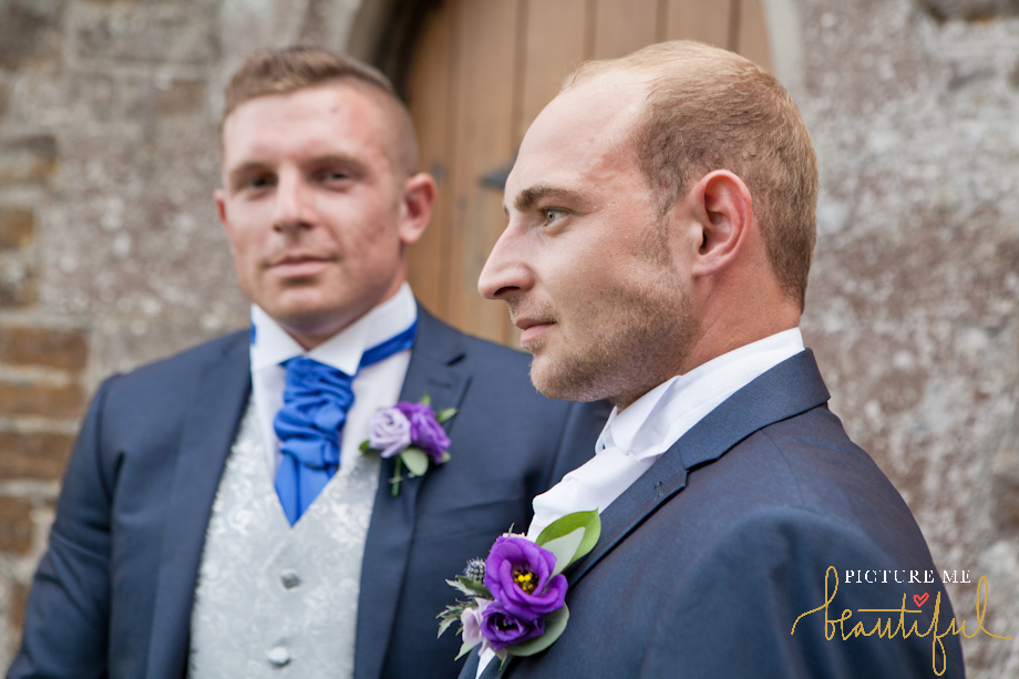 the groom and his best man by Picture Me Beautiful Wedding Photography and Film