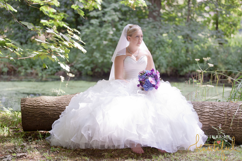 stunning Mori Lee designer bride by Picture Me Beautiful Wedding Photography and Film