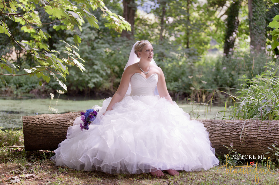 gorgeous Mori Lee designer bride by Picture Me Beautiful Wedding Photography and Film