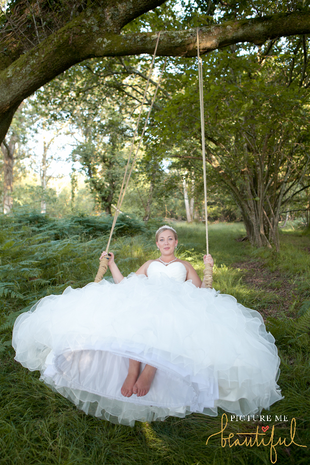 bridal swing by Picture Me Beautiful Wedding Photography and Film