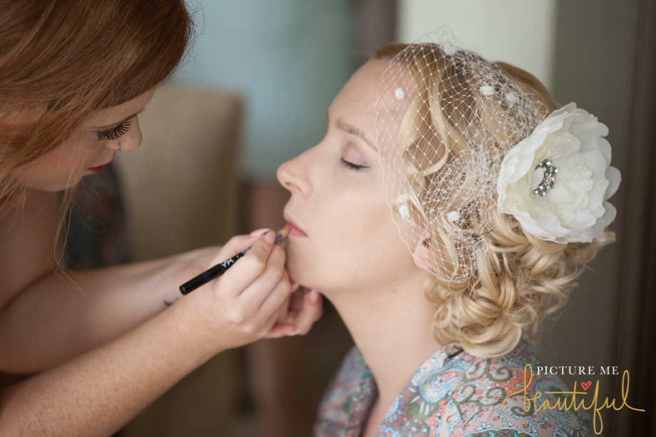 bridal prep by Picture Me Beautiful Wedding Photography and Film