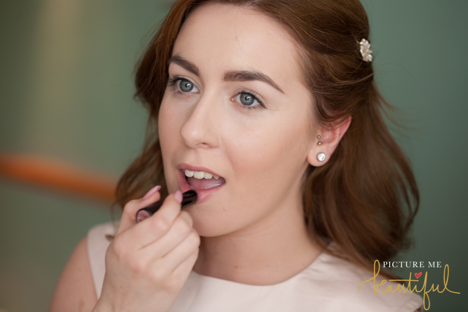 bridesmaid prep by Picture Me Beautiful Wedding Photography and Film