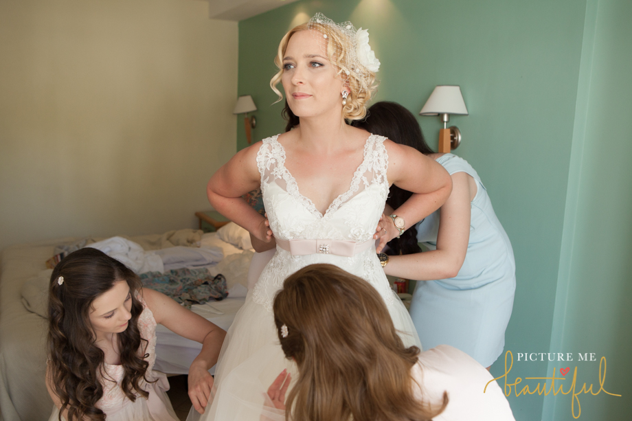 final bridal preparations by Picture Me Beautiful Wedding Photography and Film